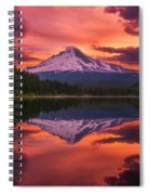 Mount Hood Sunrise Spiral Notebook