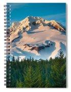 Mount Hood Winter Spiral Notebook