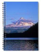 Mount Hoods Looms Over Lost Lake  Hood Spiral Notebook