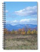 Mount Katahdin From Stacyville Spiral Notebook