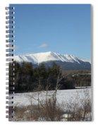 Mount Katahdin Winter 3 Spiral Notebook