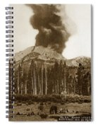 Mount Lassen Volcano California 1914 Spiral Notebook