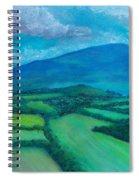Mount Leinster Ireland Spiral Notebook