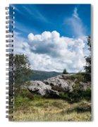 Mount Lovstakken Spiral Notebook