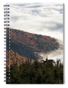 Mount Mitchell Morning Spiral Notebook