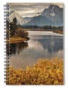 Mount Moran Spiral Notebook