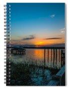 Mount Pleasant Sunset Spiral Notebook