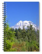 Mount Rainier Spiral Notebook
