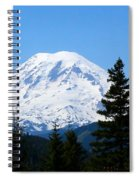 Mount Rainier Panorama Spiral Notebook