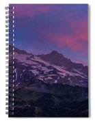 Mount Rainier Sunrise Spiral Notebook