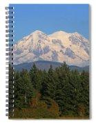 Mount Rainier Washington Spiral Notebook