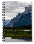 Mount Rundle And Vermilion Lake Spiral Notebook