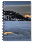 Mount Rundle And Vermillion Lakes Spiral Notebook