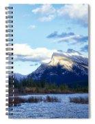 Mount Rundle Spiral Notebook