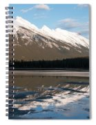 Mount Rundle Reflections Spiral Notebook