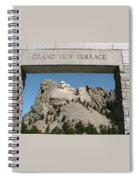 Mount Rushmore 3 Spiral Notebook