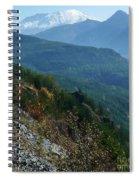 Mount Saint Helens Majesty Spiral Notebook