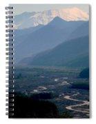 Mount Saint Helens Valley  Spiral Notebook