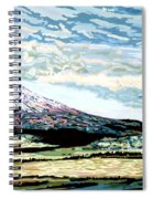 Mount Shasta California Spiral Notebook