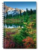 Mount Shuksan Fall Cornucopia Spiral Notebook