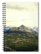 Mount Starr King Spiral Notebook