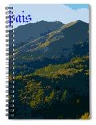 Mount Tamalpais 2013 Spiral Notebook