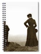 Mount Tamalpais Marin County California Circa 1902 Spiral Notebook