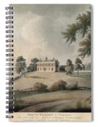 Mount Vernon, 1800 Spiral Notebook