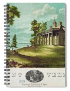 Mount Vernon, 1859 Spiral Notebook