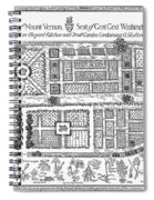 Mount Vernon: Garden Spiral Notebook