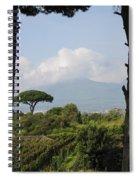 Mount Vesuvius Spiral Notebook