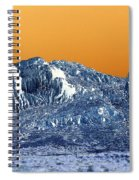 Mountain Abstract  Spiral Notebook