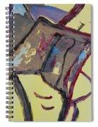 Mountain Antelope Spiral Notebook