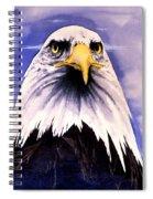Mountain Bald Eagle Spiral Notebook