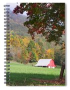 Mountain Barn Spiral Notebook
