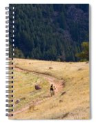 Mountain Biker Spiral Notebook