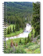 Mountain Bridge Spiral Notebook