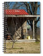 Mountain Cabin In Tennessee 1 Spiral Notebook