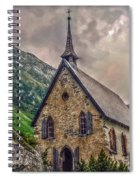 Mountain Chapel Spiral Notebook