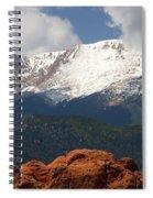 Mountain Clouds Spiral Notebook