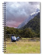 Mountain Flight Spiral Notebook