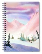 Mountain Glow Spiral Notebook