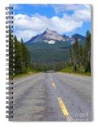 Mountain Highway Spiral Notebook