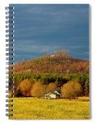 Mountain In North Carolina Spiral Notebook
