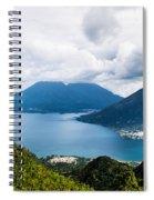 Mountain Lakes In Guatemala Spiral Notebook