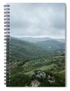 Mountain Landscape Of Italy Spiral Notebook