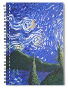 Mountain Loch Spiral Notebook