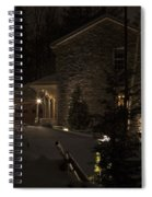 Mountain Lodge Spiral Notebook