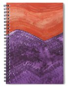 Mountain Majesty Original Painting Spiral Notebook