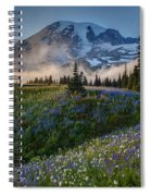 Mountain Meadow Serenity Spiral Notebook